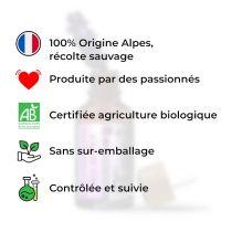 avantages lavande fine des alpes certifiée biologique, récolte sauvage